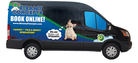 Green Valley Carpet Cleaning Van